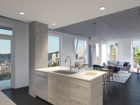 Sullivan's Gulch tower project gets a name – and a sales office